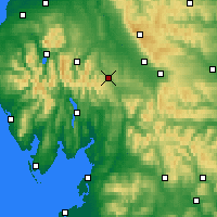 Nearby Forecast Locations - Penrith - Kaart