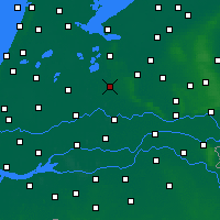 Nearby Forecast Locations - Utrecht - Kaart