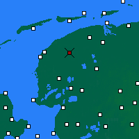 Nearby Forecast Locations - Leeuwarden - Kaart