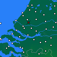 Nearby Forecast Locations - Rotterdam - Kaart