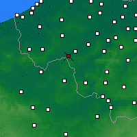 Nearby Forecast Locations - Wevelgem - Kaart