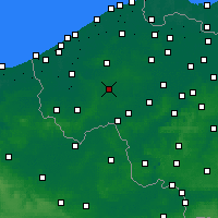 Nearby Forecast Locations - Roeselare - Kaart