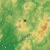 Nearby Forecast Locations - Lauterbach - Kaart