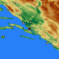 Nearby Forecast Locations - Neum - Kaart