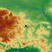 Nearby Forecast Locations - Kardzjali - Kaart