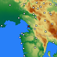 Nearby Forecast Locations - Triëst - Kaart