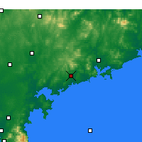 Nearby Forecast Locations - Haiyang - Kaart
