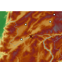 Nearby Forecast Locations - Wantingzhen - Kaart