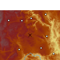 Nearby Forecast Locations - Xingren - Kaart