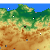 Nearby Forecast Locations - Guelma - Kaart