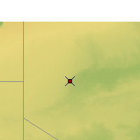 Nearby Forecast Locations - Tindouf - Kaart