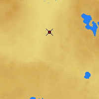 Nearby Forecast Locations - Red Earth - Kaart