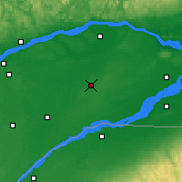 Nearby Forecast Locations - Beaver Mines - Kaart