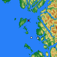 Nearby Forecast Locations - Grey Islet - Kaart