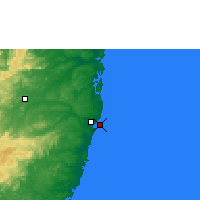 Nearby Forecast Locations - Recife - Kaart