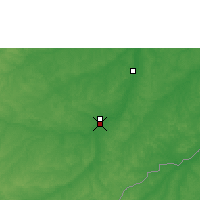 Nearby Forecast Locations - Rio Branco - Kaart