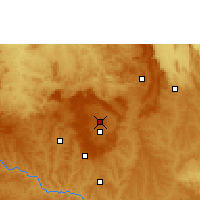 Nearby Forecast Locations - Brasilia - Kaart