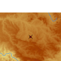 Nearby Forecast Locations - Araxá - Kaart