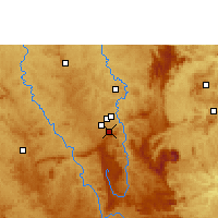 Nearby Forecast Locations - Belo Horizonte - Kaart