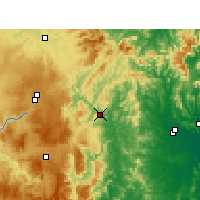 Nearby Forecast Locations - Tabulam - Kaart