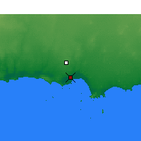 Nearby Forecast Locations - Esperance - Kaart