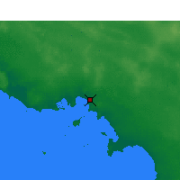 Nearby Forecast Locations - Ceduna - Kaart