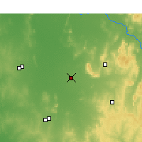 Nearby Forecast Locations - Quandialla - Kaart