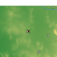 Nearby Forecast Locations - Wyalong - Kaart