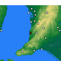 Nearby Forecast Locations - Noarlunga - Kaart