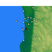 Nearby Forecast Locations - Medina - Kaart