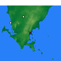 Nearby Forecast Locations - Port Lincoln - Kaart