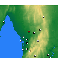 Nearby Forecast Locations - Roseworthy - Kaart