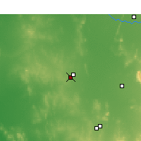 Nearby Forecast Locations - West Wyalong - Kaart
