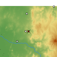 Nearby Forecast Locations - Parkes - Kaart
