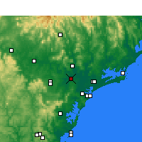 Nearby Forecast Locations - Maitland - Kaart