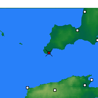 Nearby Forecast Locations - Stenhouse Bay - Kaart