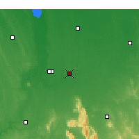 Nearby Forecast Locations - Longerenong - Kaart