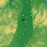 Nearby Forecast Locations - Frankenthal - Kaart