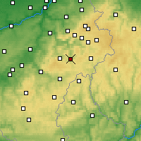 Nearby Forecast Locations - Vielsalm - Kaart
