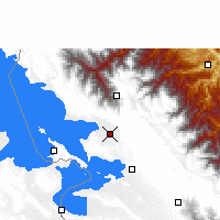 Nearby Forecast Locations - Achacachi - Kaart