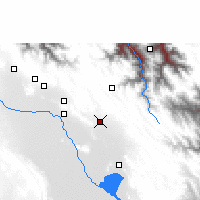 Nearby Forecast Locations - Caracollo - Kaart