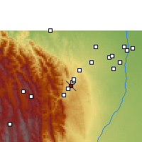 Nearby Forecast Locations - Jorochito - Kaart