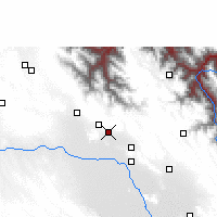 Nearby Forecast Locations - Lahuachaca - Kaart