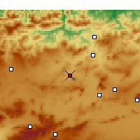 Nearby Forecast Locations - Telerghma - Kaart