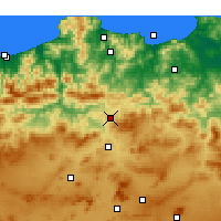 Nearby Forecast Locations - Didouche Mourad - Kaart