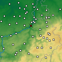 Nearby Forecast Locations - Herstal - Kaart