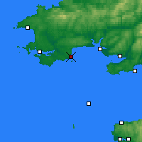 Nearby Forecast Locations - Tenby - Kaart