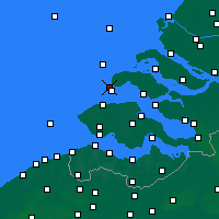 Nearby Forecast Locations - Renesse - Kaart