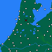 Nearby Forecast Locations - Zaanstad - Kaart