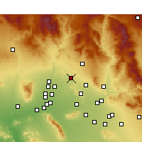 Nearby Forecast Locations - Phoenix Deer V. - Kaart